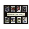 """NCAA Football 12""""x15"""" Wisconsin Badgers All-Time Greats Plaque"""