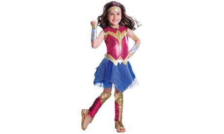 Batman v Superman: Dawn of Justice - Girls Deluxe Wonder Woman Costume 2c522d7e-9012-47c3-a698-704699cad2f5
