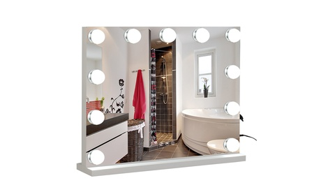 Makeup Vanity Mirror with Lights,3 Color Lighting Modes