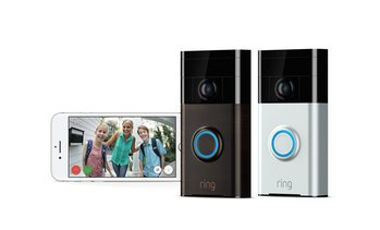 Ring Video Doorbell (2nd Gen) Wi-Fi Enabled HD Camera 1080p Works with Alexa