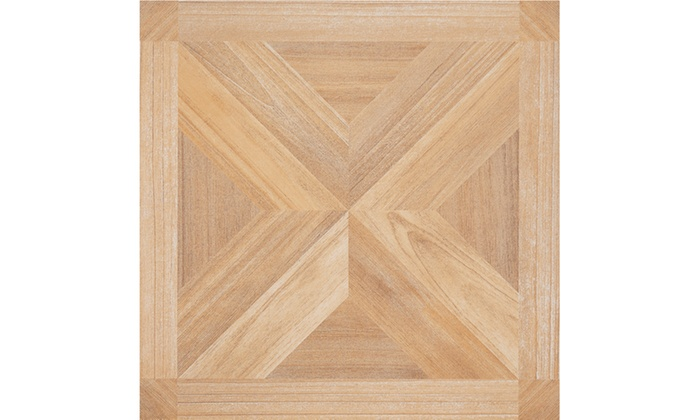 Nexus maple x parquet 12x12 floor tile 20 tiles 20 sq ft for Square footage of 12x12 room