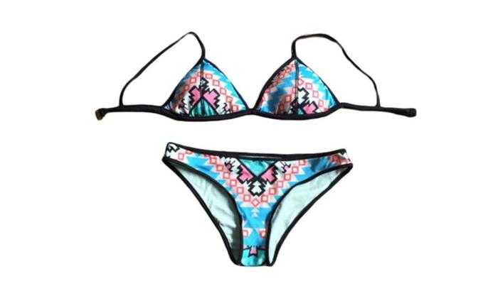 Women's Sexy Bikinis Slim Fit Outdoor Bikini Sets