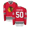 Corey Crawford Chicago Blackhawks Home Red Premier Jersey