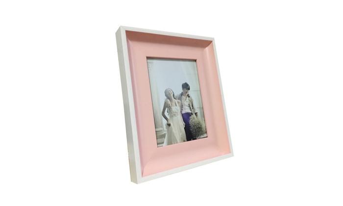 Lilian Light Pink Display 4x6 5x7 8x10 Desk/Wall Photo Frame | Groupon