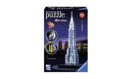 3D Puzzle - Chrysler Building - Night Edition: 216 Pcs cb428671-4c15-406d-9e02-e3cec31c2ab6