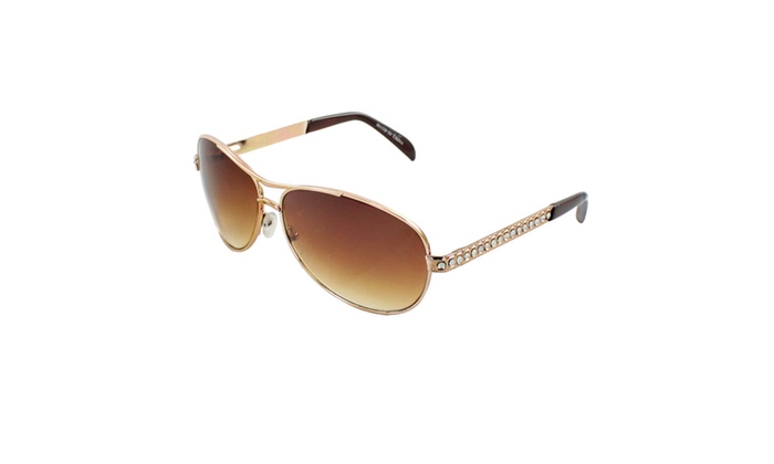 MLC EYEWEAR Retro Racer Inspired Aviator Sunglasses zZT0706