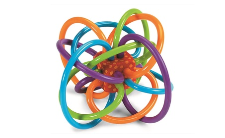 Baby Winkel Rattle and Sensory Teether Activity Toy 8fa641bb-0729-49a7-8a67-d0a50aa721bd