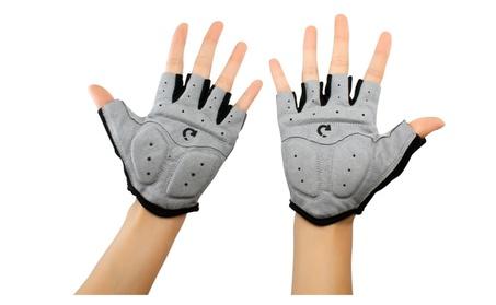 Sports Racing Cycling Motorcycle MTB Bicycle Gel Half Finger Gloves 0a8ee641-8de6-4e44-b495-fc3b61e2e15f