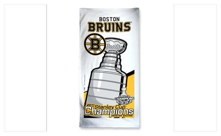 Boston Bruins 2011 Stanley Cup Champions Beach Towel d3231e87-375e-414d-aeb3-178affb26f52