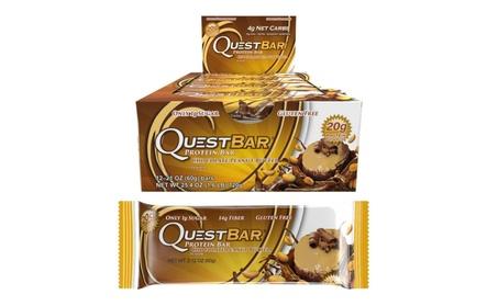 Quest Protein Bar Chocolate Peanut Butter 12pk Gluten-Free 4-Net Carb 7ffc7cad-71c6-4eab-8c20-3e3230ec1b12