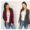 Long-Sleeved Slouchy Cardigan