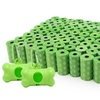 EcoJeannie Biodegradable Dog Poop Bags 1600-count with 2 Dispensers