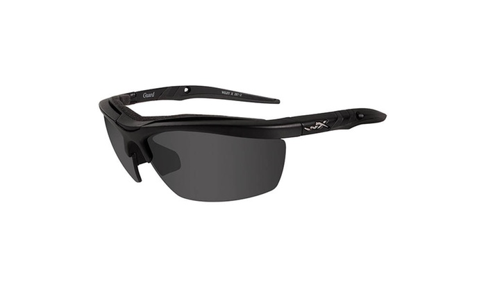 25834ce0658 Wiley X Guard Advanced Grey Clear Rust Lens Black Frame