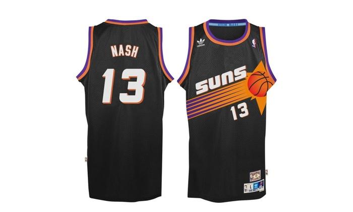 best sneakers c6c11 7a7e9 Steve Nash Phoenix Suns Black Throwback Swingman Jersey