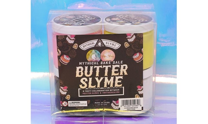 Mythical Slyme Glitter Slimes - Bake Sale Slime (4 Set