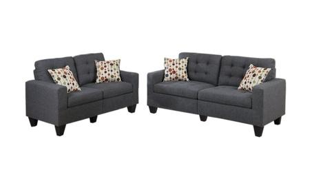 Sofa and Love Boss Furniture F6901 980195f3-d35d-4b12-9c1f-12931eabb5c4
