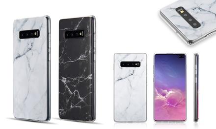 Marble Design Soft TPU Phone Case for Samsung Galaxy S10 / S10 Plus, S10e Lite