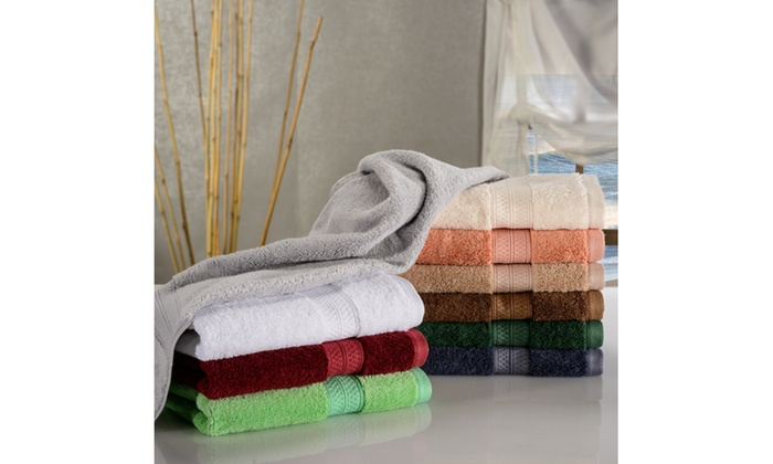9392a6c9fec6 Superior Rayon from Bamboo 6-Piece Hand Towel Set