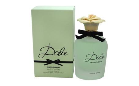 Dolce Floral Drops by Dolce & Gabbana for Women - 2.5 oz EDT Spray 7007ac7f-3367-42eb-9add-08da85ad3894