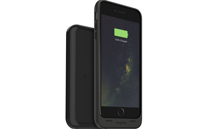 mophie mfi juice pack case \u0026 wireless charger base for iphone 6smophie mfi juice pack case \u0026 wireless charger base for iphone 6s plus, 6 plus groupon
