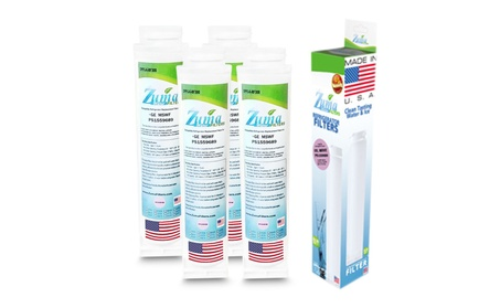 Ge Wf282 Compatible Refrigerator Water & Ice Filter (4 Pack) photo