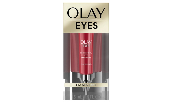 Olay Eyes Pro Retinol Eye Cream Treatment For Crows Feet Wrinkles