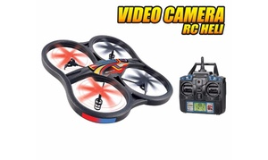 Panther UFO 4.5-Channel 2.4GHz Remote-Control Spy Drone with Camera