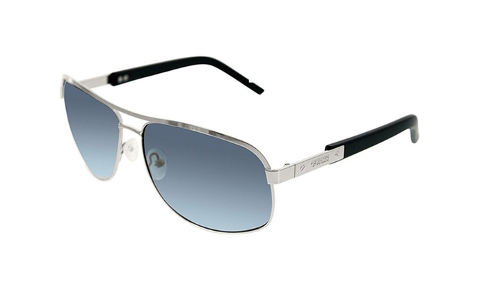 Guess GU6800 Q87 Silver Frame / Grey Gradient Lenses
