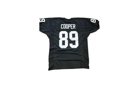 Autographed Amari Cooper Oakland Raiders Custom Jersey Black FHS171 9d0cbce2-6a7b-42fa-96a3-d422df1b05fe