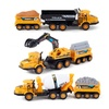Imports Set of 3 Deluxe Construction Toy Vehicles Playset
