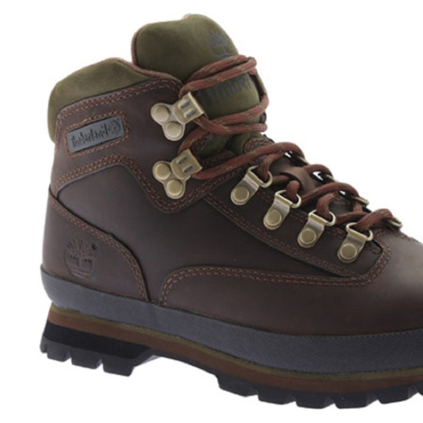 f94887038f0 Timberland Men's Classic Leather Euro Hiker Boots - Brown - 924458
