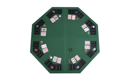 Poker Table Top with Carrying Case 8 Player Octagon Folding 48 1b63e7cb-8d8e-41df-9853-01ce595c6a67