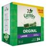 Greenis Dental Large Dog Treats Original Flavor 24 Treat 36 oz 1 Pack