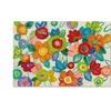 Silvia Vassileva 'Decorative Flowers Bright' Canvas Art