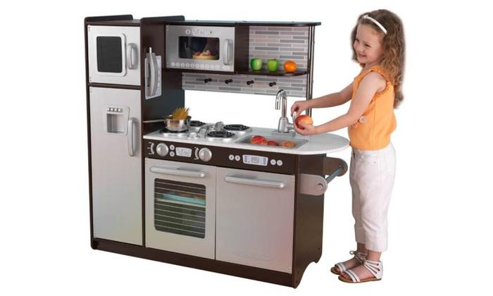 kidkraft uptown espresso kitchen - Kidkraft Uptown Espresso Kitchen