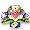 Second Nature Pop Ups - Teddy Bear With Love Birthday Card