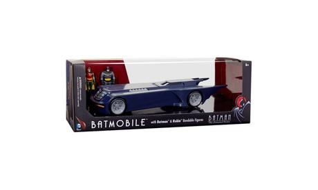 """BTAS Batmobile w/ Batman and Robin 3"""" Bendables 95a10796-ddf6-4628-90a0-be315d71628c"""