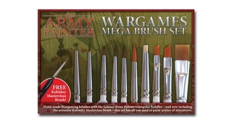 Army Painter ST5113 Hobby Starter - Mega Brush Set 6a694e83-cddc-4453-bafa-4296887ea7c9