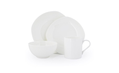 Porcelain Dinnerware Set of 4 DW-CB4 f2b2231a-80bb-4614-94c1-676535d6da5f