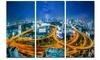 Bangkok City - Cityscape Photography Metal Wall Art