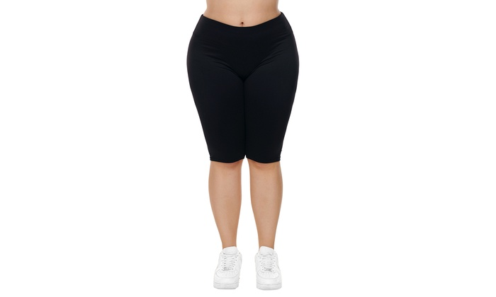 d2e268074f3ba Up To 81% Off on Women s Black Knee Length Plu...   Groupon Goods