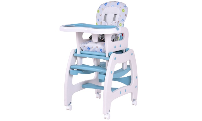Up To 18 Off On Baby High Chair Convertible Groupon Goods