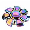 Rainbow Heptagonal Hand Spinner Fidget