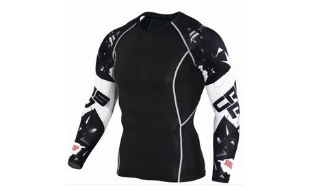 Men's Compression Long Sleeves Activewear Sports T shirt 9916c8a1-8b23-498a-8f54-5cd545ca09b3