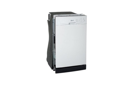 """Avanti 18"""" Built In Dishwasher White / Black / Stainless Steel 34ee632c-1646-4802-a4cc-6fa6c2fd93e3"""
