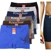 Mens Eagle Seamless Boxer Brief 6 Piece Color Variety Set