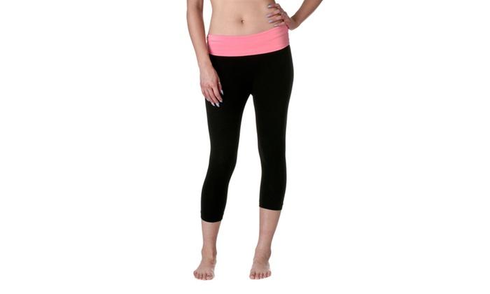 Zenana Yoga Capri SP376-1
