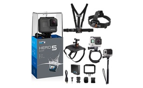 GoPro HERO 5 Black 12MP 4K Video Action Camera Black at The Teds Store, plus 6.0% Cash Back from Ebates.