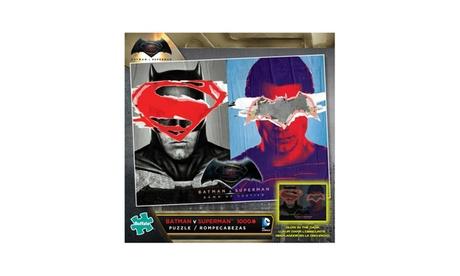Batman V Superman Glow-in-the-Dark Jigsaw Puzzle: 1000 Pcs 4247189d-7fcd-4347-8129-d3bf800c6a06