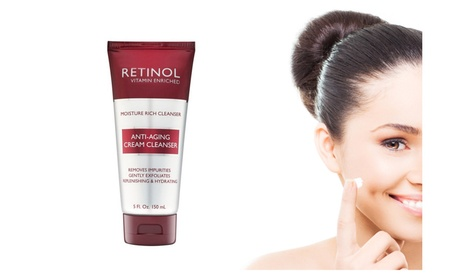 Skin Care Anti-Aging Cream Cleanser For Smoother And More Radiant Skin